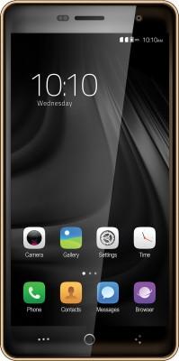 Celkon Millennia Ufeel 4G  Gold, 8  GB  1  GB RAM