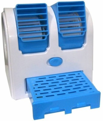 Branded Mini Cooler Tower Fan(Blue)