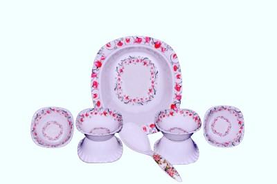 Spark International CRAZY PUDDING SET Melamine Vegetable Bowl Multicolor, Pack of 7 Spark International Bowls