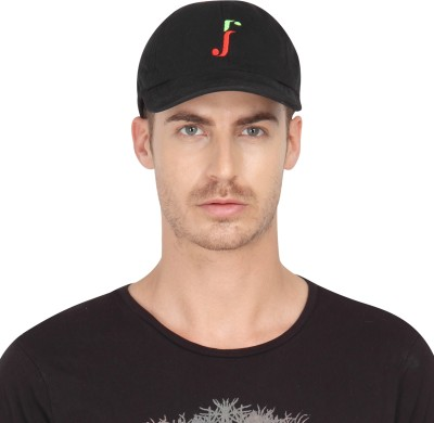 FabSeasons Solid Hosiery Cotton Plain Solid Unisex with Adjustable Size Baseball Summer Cap