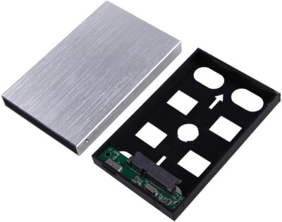 Tera TB031 2.5 inch External sata casing(For Terabyte India, Silver)