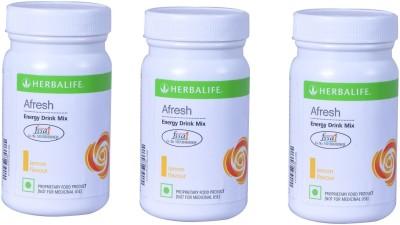 Herbalife Afresh Energy Drink Nutrition Drink(3x50 g, Lemon Flavored)