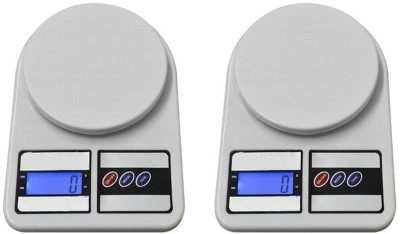 AmtiQ New Digital Electronic (Pack of 2) SF 400 5Kg Kitchen Weighing Scale(Off-White)  available at flipkart for Rs.849