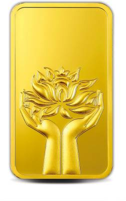 MMTC-PAMP India Pvt Ltd Lotus series 24 (9999) K 20 g Gold Bar