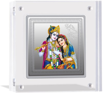 MMTC PAMP India Pvt Ltd Premium collection   Radha and Lord Krishna S 9999 50 g Silver Bar MMTC PAMP India Pvt Ltd Coins   Bars