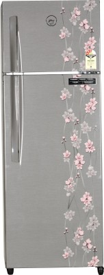 Godrej 290 L Frost Free Double Door 3 Star Refrigerator(Silver Meadow, RT EON 290 P 3.4)
