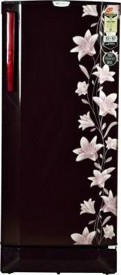 Godrej 210 L Direct Cool Single Door 3 Star Refrigerator(Jasmine Wine, RD EDGE PRO 210 CT 3.2)