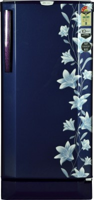 Godrej 190 L Direct Cool Single Door Refrigerator(Jasmine Blue, RD EDGE PRO 190 CT 3.2)