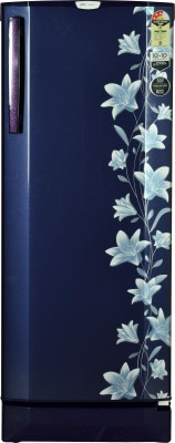 Godrej 240 L Direct Cool Single Door Refrigerator(Jasmine Blue, RD EDGE PRO 240 CT 3.2)