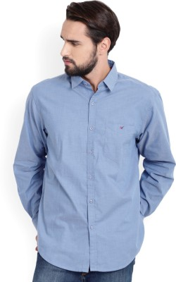 Wills Lifestyle Men Solid Casual Shirt