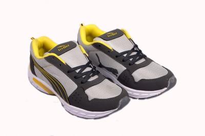 TRIQER 734 FLAT SPORTS SHOES FOR BOYS. Running Shoes For Men(Grey) at flipkart