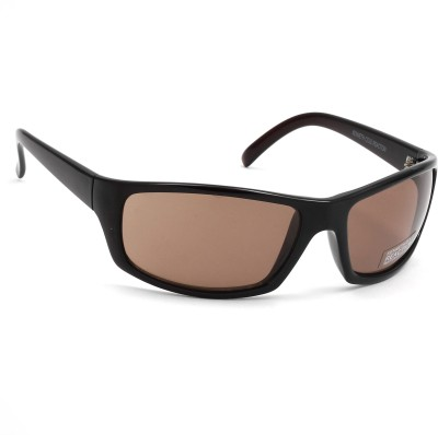 Kenneth Cole Rectangular Sunglasses(Brown) at flipkart