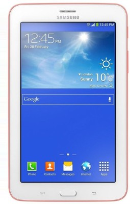 Samsung SM-T111 8 GB 7 inch with 3G Tablet(Pink)