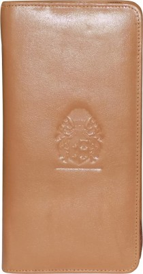 Kan Premium Quality Leather Passport Organizer/Travel Document Holder/Cheque Book Holder for Men   Women Tan Kan Wallets