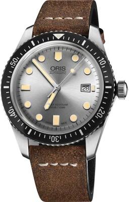 Oris 01 733 7720 4051-07 5 21 02 Diving Analog Watch For Men