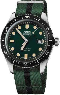 Oris 01 733 7720 4057-07 5 21 25FC Diving Analog Watch For Men