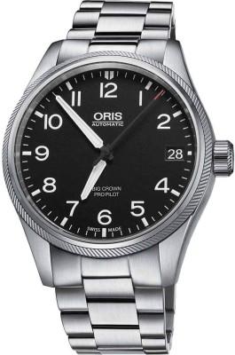 Oris 01 751 7697 4164-07 8 20 19 Aviation Analog Watch For Men