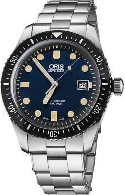 Oris 01 733 7720 4055-07 8 21 18 Diving Analog Watch For Men