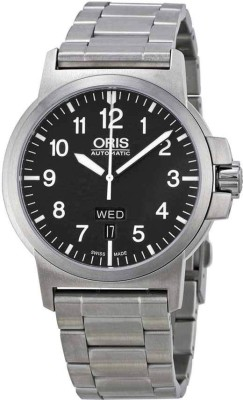 Oris 01 735 7641 4164-07 8 22 03 Aviation Analog Watch For Men