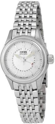 Oris 01 594 7680 4061-07 8 14 30 Aviation Analog Watch For Women