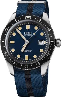 Oris 01 733 7720 4055-07 5 21 28FC Diving Analog Watch For Men