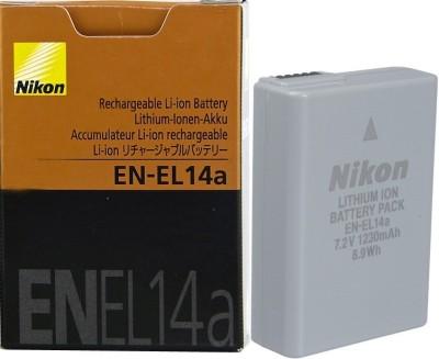 Nikon EN-EL14a Camera Battery Pack(Yes)