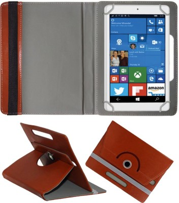 Fastway Book Cover for Alcatel OneTouch Pixi 3 Tablet(Brown, Cases with Holder)