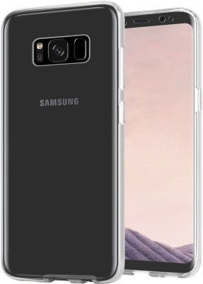 Xelcoy Front   Back Case for Samsung Galaxy S8 Transparent, Dual Protection, Silicon