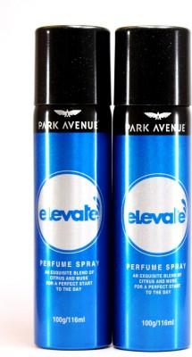Park Avenue Elevate Perfume Body Spray  -  For Men(232 ml, Pack of 2)