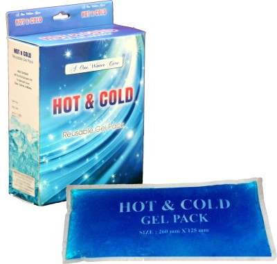 A-One Winter Care Pain Relief Pad A-One Winter Care Hot and Cold Gel Pack Pack(Crystal Blue)  available at flipkart for Rs.299