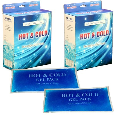 A-One Winter Care Pain Relief Pad (Pack of 2) Hot and Cold Gel (Pack of 2) Pack(Crystal Blue)  available at flipkart for Rs.549