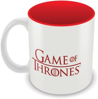 Game of Thrones Targaryen House Ceramic Mug(325 ml)  available at flipkart for Rs.275