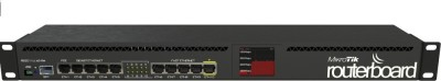 MikroTIK RB2011UiAS-RM Multi Port Wired Ethernet Rackmountable Router(Black)