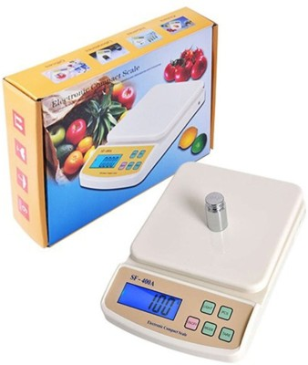 AmtiQ New Digital Electronic SF 400A 5Kg Kitchen Weighing Scale(Off-White)  available at flipkart for Rs.509