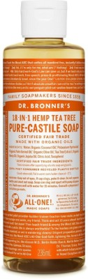Dr. Bronner's Castile Liquid Soap-Tea Tree - 8 oz - Liquid(236 ml)  available at flipkart for Rs.1580