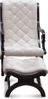 @home by Nilkamal Kosmo Fabric 1 Seater Rocking Chairs(Finish Color - Brown)