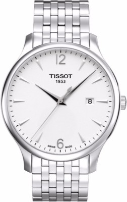 Tissot T0636101103700 Analogue Tradition Round Silver Dial Men's Watch (T0636101103700)