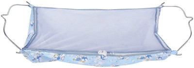 GHODIYAWALADOTCOM Soft Cloth Swing New Born Baby Cradle / Ghodiyu Hammock in Cool Cotton With Net,(Blue)  available at flipkart for Rs.499