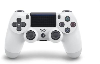 Sony DualShock 4 Wireless Controller V2  Gamepad(White, For PS4)