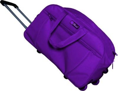 5fa3fd1c60 82% OFF on Inte Enterprises stylish (Expandable) Travel Duffel Bag(Purple)