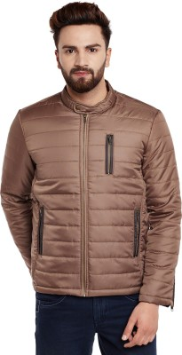 Canary London Full Sleeve Solid Men Quilted  Jacket