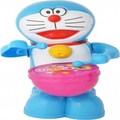 reyansh collection Battery Operated Drum Beating Doraemon(Blue)  available at flipkart for Rs.320