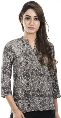 Amadore Casual 3/4th Sleeve Printed Women