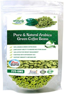 "Simply nutra Green Coffee Beans for weight loss 225 Gm, Arabica Grade ""A"" Coffee Beans(225 g)"
