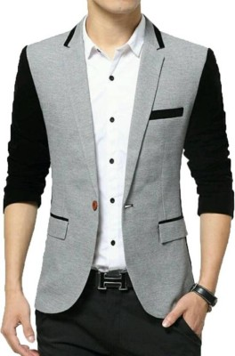 Redwood Solid Single Breasted Formal, Wedding, Casual, Party, Festive Men