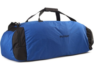 Wildcraft Sleek Large 28 inch/71 cm Travel Duffel Bag(Black, Blue)