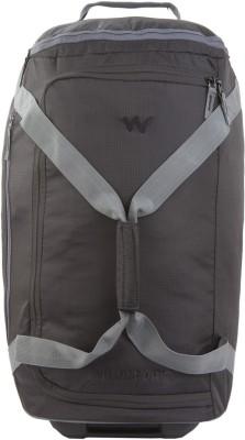 Wildcraft Voyager Duffle 22 Travel Duffel Bag(Black)