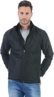 Pepe Jeans Full Sleeve Solid Men Jacket at flipkart