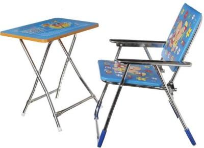 baba ji enterprises Metal Desk Chair(Finish Color - blue)