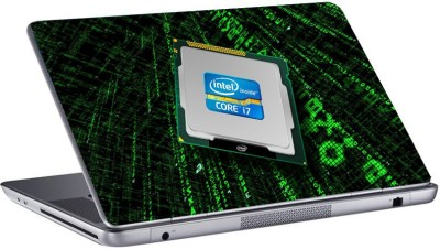 gallery 83 Intel core i7 Laptop Sticker 15.6 inch Vinyl Laptop Decal 15.6  available at flipkart for Rs.349